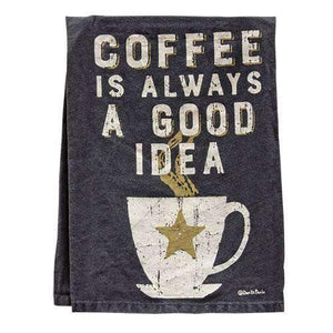 Coffee is always a Good Idea Kitchen Dish Towel