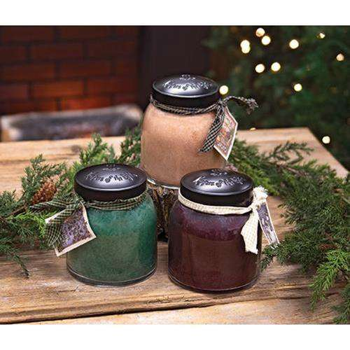 3/Set, Papa Jar Candle Winter Assortment
