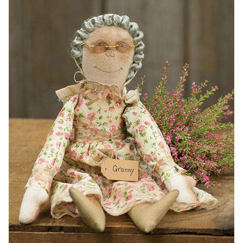 Granny Doll Country Dolls & Chairs CWI+