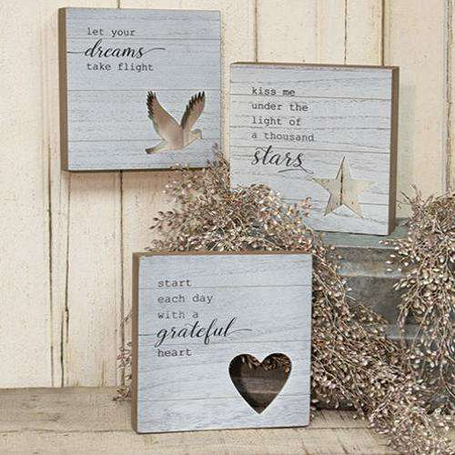 Grateful Heart Box Sign Pictures & Signs CWI+