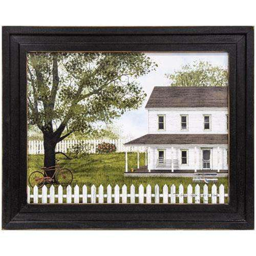 Green, Green Grass of Home Framed Print Billy Jacobs CWI+