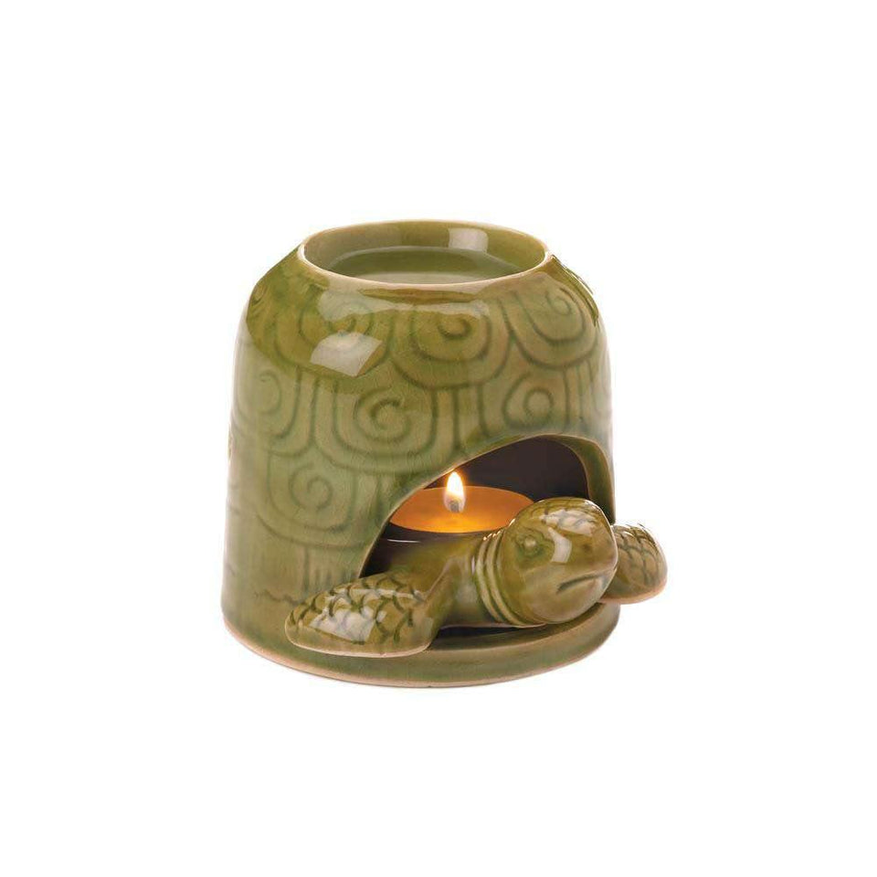 Green Turtle Oil Warmer