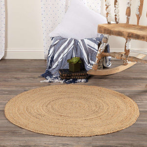 Harlow Jute Braided Round Rugs VHC Brands Rugs VHC Brands 3' FT