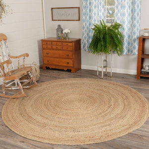 Harlow Jute Braided Round Rugs VHC Brands Rugs VHC Brands 6' Ft