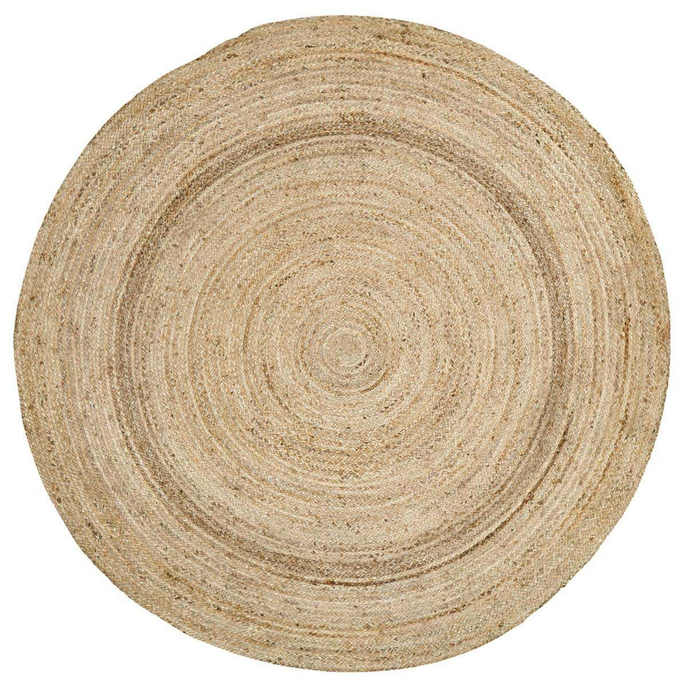 Harlow Jute Braided Round Rugs VHC Brands Rugs VHC Brands 8' FT
