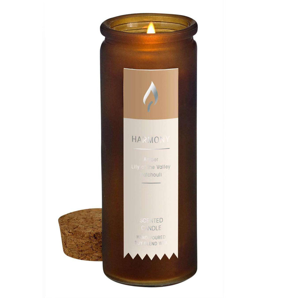 Harmony Scent Tincture Bottle Candle