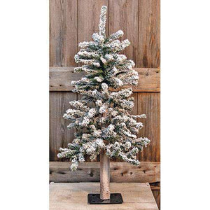 Heavy Flocked Alpine Tree, 3ft Alpines CWI Gifts