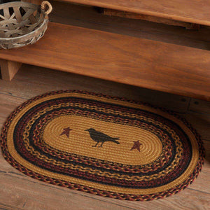 Heritage Farms Crow Jute Braided Rug Oval rugs VHC Brands
