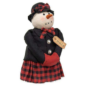 Holly Snowwoman Doll Christmas & Winter Dolls CWI+