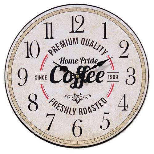 Home Pride Country Coffee Clock wall clocks CWI+