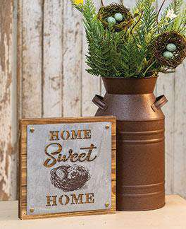 Home Sweet Home Box Sign CHD Signs & Wall Accents CWI+