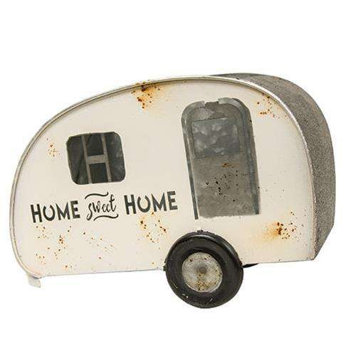 Home Sweet Home Camper Planter Tabletop & Decor CWI+