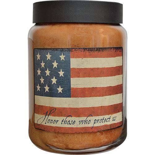 Honor Jar Candle, 26 oz Patriotic Candles & Lights CWI+