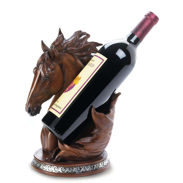 Horse Wine Bottle Holder Wine Accessories Koehler Home Décor