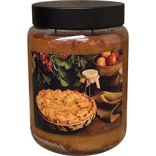 Hot Apple Pie Jar Candle, 26oz Candles and Scents CWI+
