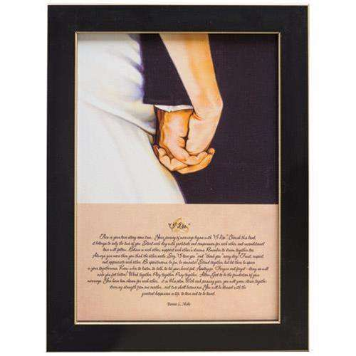 I Do Framed Print - Small Country Prints CWI+