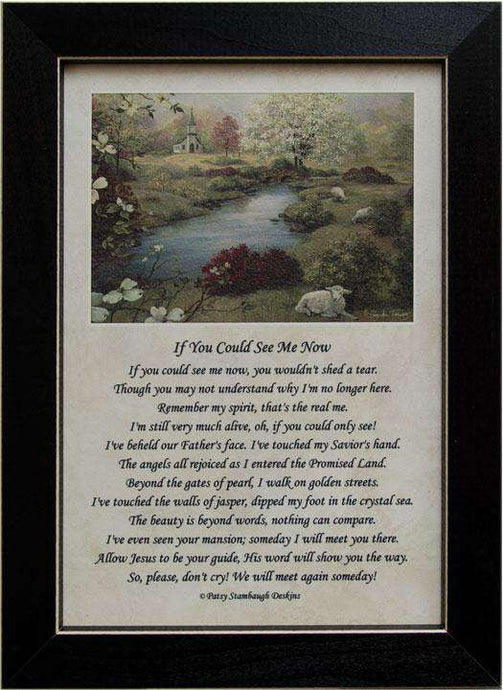 If You Could See Framed Print Country Prints CWI+