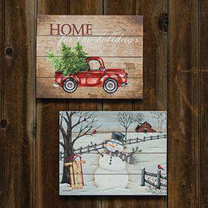 In the Meadow Pallet Art Wall Decor CWI+