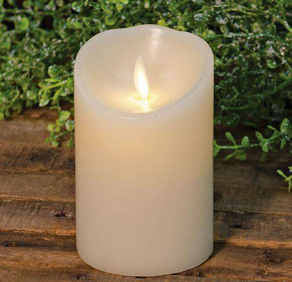 "Ivory Luminara, 4"" Luminara Candles CWI+"