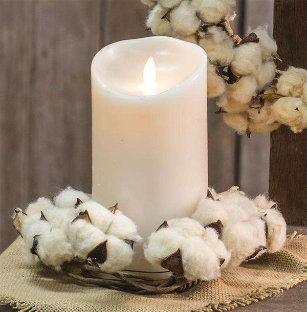 "Ivory Luminara, 7"" Pillars/Tealights/Votives CWI+"