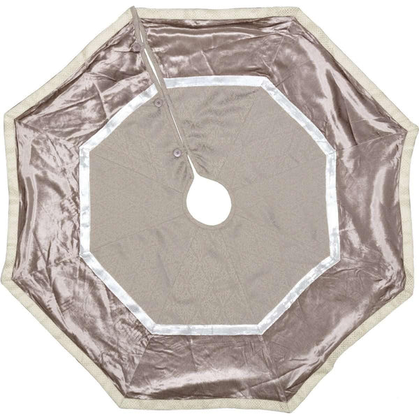 Allura Christmas Tree Skirt 48 VHC Brands