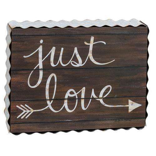 Just Love Box Sign Wedding Supplies CWI+