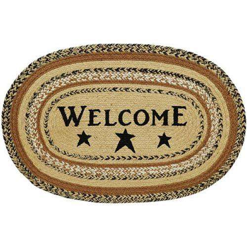 Kettle Grove Jute Welcome Rug, 20x30 Rugs CWI+
