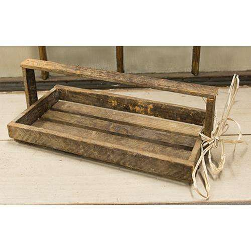 Lath Flower Tray Tote Tabletop CWI+