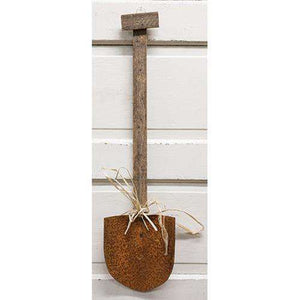 Lath Hanging Shovel Wall Decor CWI+