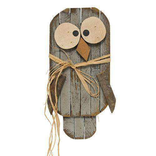 "Lath Owl, 20"" Spring Wall Decor & Signs CWI+"