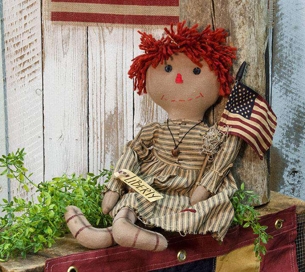 Liberty Annie Doll Country Dolls & Chairs CWI+