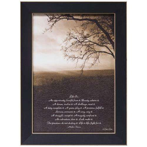 Life Is... Framed Print Country Prints CWI+