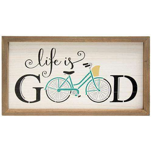 Life Is Good Wall Art Pictures & Signs CWI+