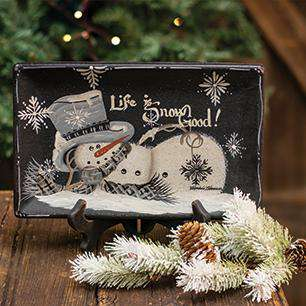 Life is Snow Good Tray Plates & Holders CWI+
