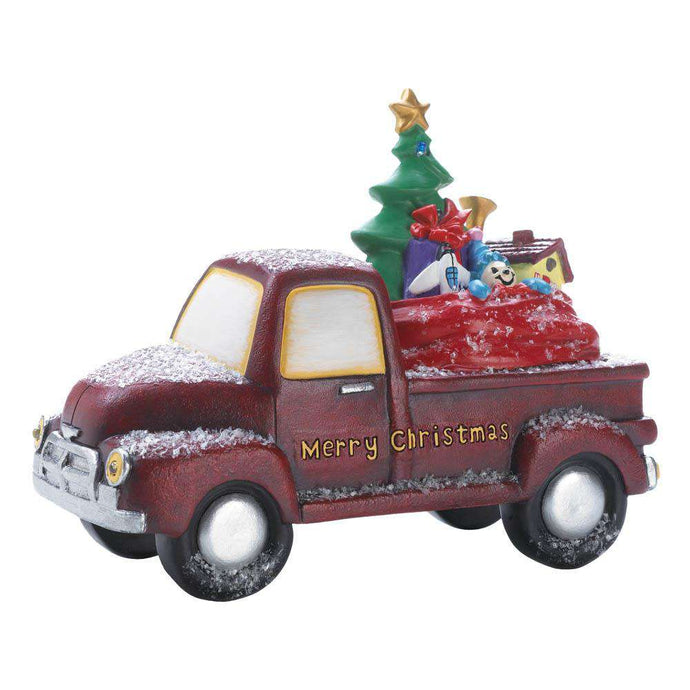 Light-Up Toy Delivery Truck Accent Plus