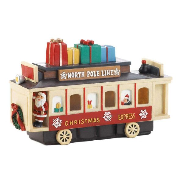 Light Up Vintage Christmas Train