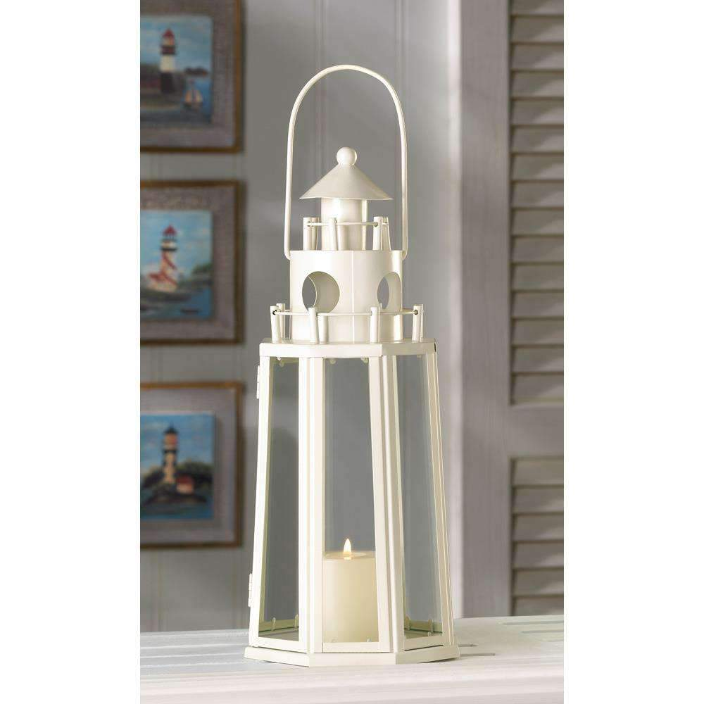 Lighthouse Candle Lantern Summerfield Terrace