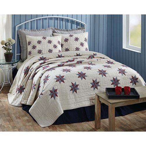 Lincoln Queen Quilt Bedding CWI+