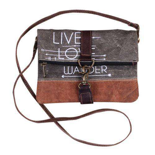 Live Love Wander Fold-Over Crossbody Purse Wearable / Accessories CWI+