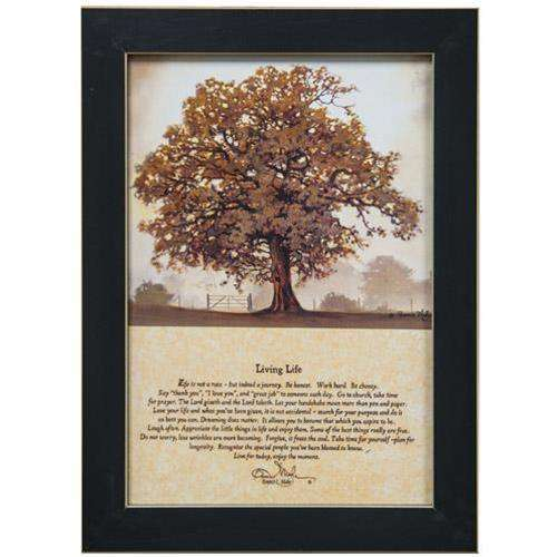 Living Life Framed Print Country Prints CWI+