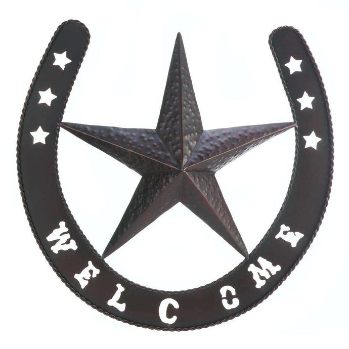 Lonestar Welcome Wall Decor Accent Plus