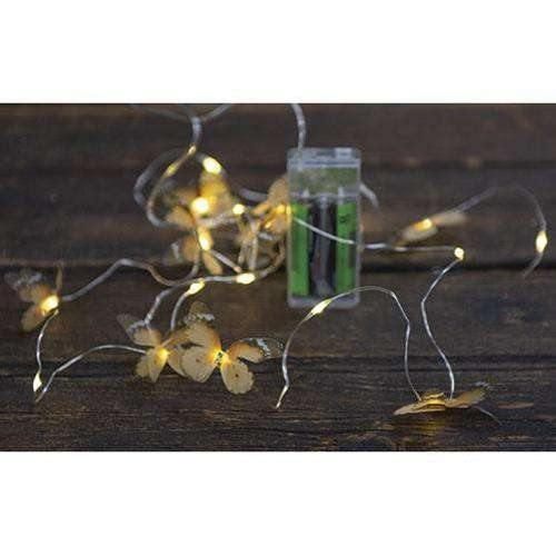 Butterfly LED Lights, 20 ct