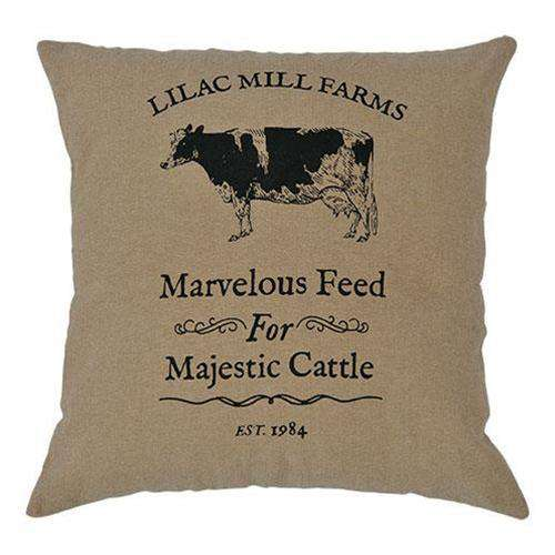 Majestic Cattle Pillow, 16