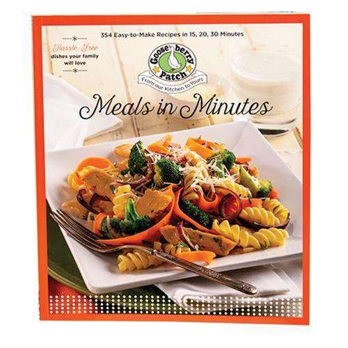 Meals in Minutes Cookbooks CWI+