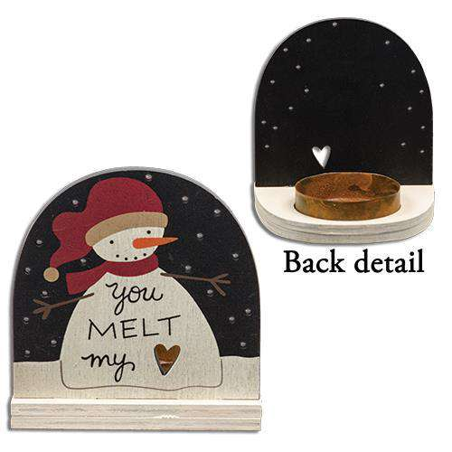 Melt My Heart Tealight Holder Wall Decor CWI+