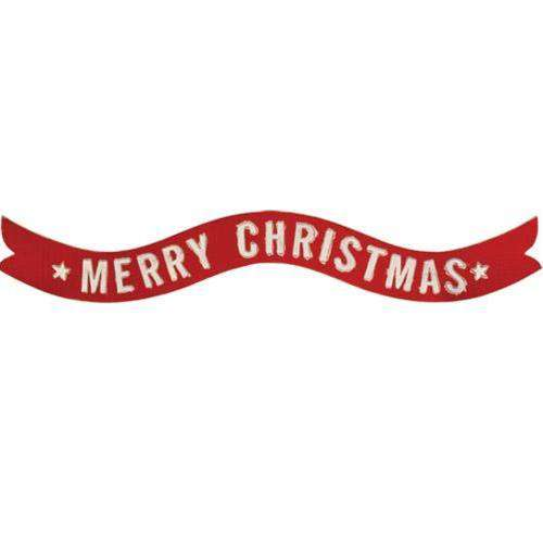 Merry Christmas Banner Wall Sign General CWI+
