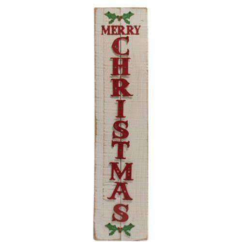 Merry Christmas Wood Sign General CWI+