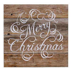 Merry Christmas Wooden Sign Holiday Flash Sale CWI+