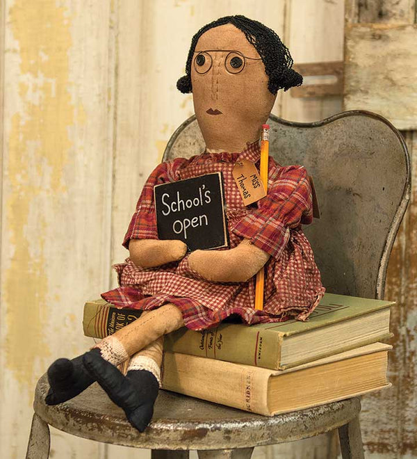 Miss Thomas Teacher Doll HSD Dolls CWI+