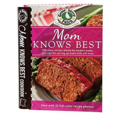 Mom Knows Best Cookbook Cookbooks CWI+